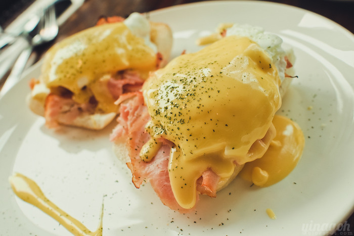 Choupinette Eggs Benedict