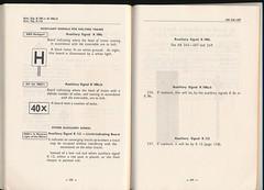 "German Railway Signals - Page 91 (Mark Vogel) Tags: railroad train eisenbahn railway db german signal signaux chemindefer signale rulebook ""german bahn"" ""deutsche eisenbahnsignal railways"" operatingrules signalchart signaldiagram signalaspects signalbuch"
