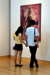 Holding Hands (Read2me) Tags: two art museum couple candid behind cye friendlychallenges thechallengefactory yourockwinner agcgwinner herowinner superherochallengewinner pregamewinner gamesweepwinner