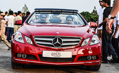 Now This Is What We Call *Really Red HOT Beauty*   E-Class 250 CGI Convertible ! (Bee Lal) Tags: auto show pakistan red hot beauty 50mm mercedes nikon july 18 250 cgi f9 islamabad eclass d5100