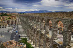 008343 - Segovia (M.Peinado) Tags: españa canon spain segovia acueducto hdr castillayleón 2013 ccby provinciadesegovia canoneos60d 03072013 juliode2013