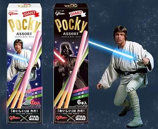 固力果 Pocky X 星際大戰 Star Wars 聯名食品