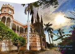 Panorama Castillo Unanue (Marcos GP) Tags: peru lima castillo peruvian unanue cañete castlr marcosgp