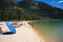 Sand Harbor, NV (rogergabrielgarcia) Tags: lake beach harbor sand nevada tahoe x100