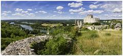 Le petit Gaillard (AKfoto.fr) Tags: castle chateau vernon giverny gaillard andelys