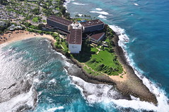 Turtle Bay Resort (Great Salt Lake Images) Tags: hawaii oahu northshore turtlebayresort mainhotel paradisehelicopter kulimabay