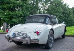 OH! MG (theclashcityrocker) Tags: tourists mg german british lochlomond classiccars luss