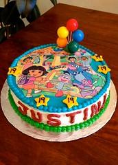 Dora Cake by Michelle, Santa Cruz, CA, www.birthdaycakes4free.com