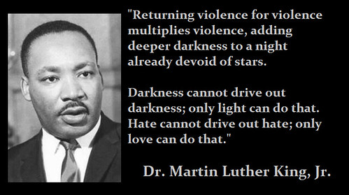 MLK--Nonviolence, From FlickrPhotos