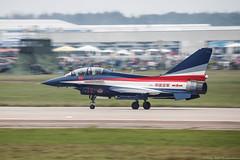 "J-10 (Jian 10) Chinese Aerobatic Team ""August 1-st"" (Pavel ""Myth"" YB) Tags: russia aviation airshow zhukovsky ef200400 maks2013"