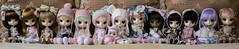 My Dal Family  (Brie G.) Tags: family sisters doll anniversary dal coco groove 10th acr cinnamoroll humptydumpty sooni puki joujou junplanning hinaichigo dotori rotchan dollfamily tezca anotherclockrabbit anotherrabbit hanaayame littledal anothercardrabbit