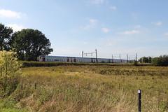 Rame de M5 rénovée (bluetibius) Tags: m5 sncb nmbs trein train belgique belgie belgium brussels brussel bruxelles haren 26
