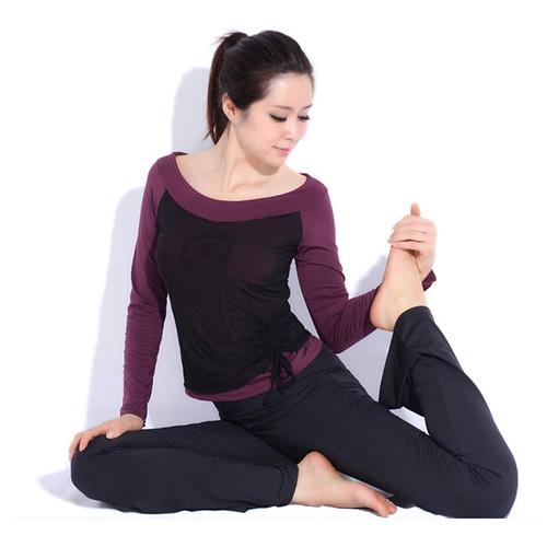 Vêtements à manches longues Slim yoga