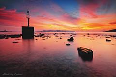 X Guardian ... (zakies) Tags: sky sun rock inspired slowshutter 500px odec sabahisland sabahsunset malaysiansunset leeproglass zakiesphotography zakiesphoto xguardian umssabah