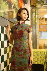 _DSC7432 (rickytanghkg) Tags: old portrait hk woman lady studio asian pretty chinese young indoor taiwanese