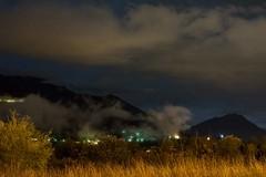 E'...NOTTE (Lace1952) Tags: nikon fiume piemonte luci pioggia notte piana nubi toce vco nikkor1755f28 ossola d7100