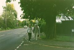 Love didn't tear them apart (akio.takemoto) Tags: uk england colour love film couple superia fujifilm oldpeople nikonfe amore coppia wolverhampton inghilterra anziani 1600iso fujicolor pellicola