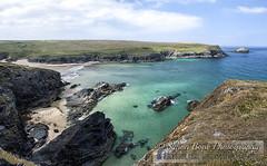 Polly Joke (Simon Bone Photography) Tags: blue sea seascape beach coast sand cornwall shoreline newquay cliffs coastal coastline torquoise beachscape porthjoke pollyjoke canonef1740mmlf4 canoneos5dmkii wwwsimonbonephotographycouk