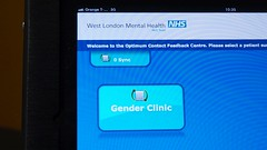 Charing Cross Gender Identity Clinic 31028 - Satisfaction Kiosk - every patient asked on their way out - Version 2 (tedeytan) Tags: hospital psychiatry diversity compassion surgery transgender lgbt nhs endocrinology charingcross gender equality genderidentity medicalcare generalpractice epz1650mmf3556oss genderidentityclinic