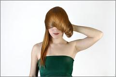 Coiffure - Hairdressing (PM Gaury) Tags: portrait color studio rouge nikon couleurs d90 nikond90