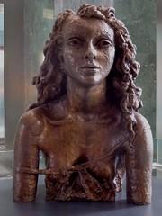Sir Jacob Epstein, Second Portrait of Deidre (in a Slip), 1941-42, bronze (jacquemart) Tags: bronze greenwich canarywharf sirjacobepstein 194142 secondportraitofdeidreinaslip