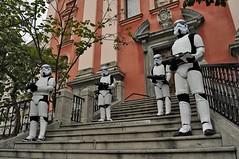 The Empire has arrived (selecshine) Tags: starwars slovenia stormtrooper ljubljana slovenija