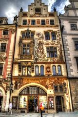Houses in Prague [EXPLORE] (gionni br@vo) Tags: canon eos prague 7d czechrepublic