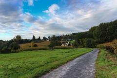 sur la route d'elincourt (sylvaing60) Tags: sky flower grass saint canon garden village champs ciel rue campagne foret arbre glise verdure picardie pature canoneos600d