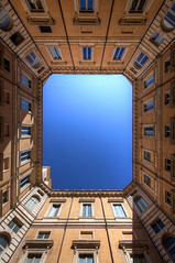 A Patch of Blue Sky (1982Chris911 (Thank you 3.000.000 Times)) Tags: italien blue sky italy rome roma building canon italia rom palazzobraschi museodiroma canoneos5dmarkiii canoneos5dmark3 eos5dmark3