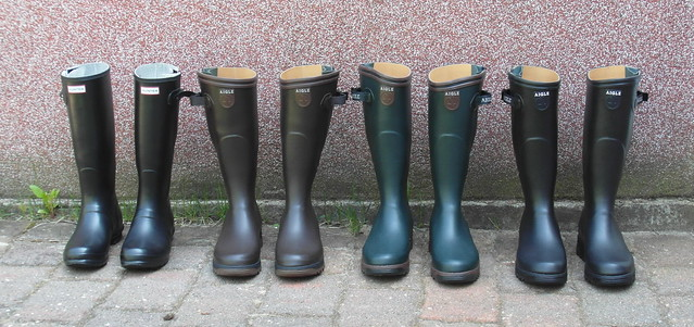 My summer wellies