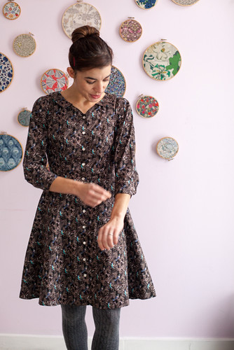 Wintry Hawthorn Dress