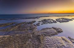 Cabo de las Huertas. Alicante. (fulgor_astral) Tags: sunset sea beach atardecer mar rocks seascapes playa alicante lee hitech canon1740 cabodelashuertas canon6d heliopan105mmpolarizer meteocaravaca 09ndleefilter