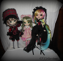 Different kind of Lolita (Wolkywii) Tags: boy dolls sweet gothic dal lolita madison dresses groove pullip noa isul kanaria