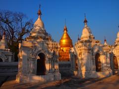 Kuthodaw Pagoda in Mandalay (Myanmar 2013)