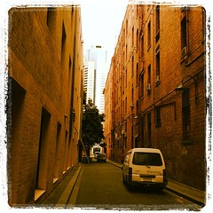 Windsor Place looking north (Hecuba's Story) Tags: square melbourne squareformat melb lordkelvin windsorplace iphoneography instagramapp uploaded:by=instagram