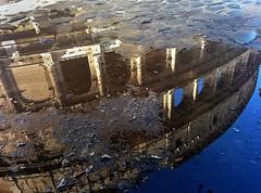 Reflection (Dario Manuppella) Tags: sun rome roma reflection water sunny reflect acqua colosseo riflesso febbraio pozzanghera riflessione world100f nexus5 snapseed flickrandroidapp:filter=none