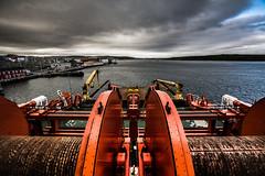 Normand Prosper Winches (weeechris) Tags: vessel anchor tug shetland lerwick normand handling prosper ahts