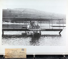 AL-27B Ray Fife Album Photo_000119 (San Diego Air & Space Museum Archives) Tags: rayfife glenncurtiss curtisstriad curtisspusher curtiss keukalake lakekeuka airplane seaplane floatplane aircraft aviation navalaviation aviator unitedstatesnavy usn theodoregordonellyson theodoregellyson theodoreellyson ellyson navalaviatorno1