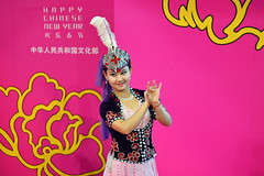 Dance Performance #4 (chooyutshing) Tags: festival dance singapore performance chinesenewyear celebrations lunarnewyear attractions 2014 amphitheate vivocity xinjiangproductionandconstructionacrobatictroupechina