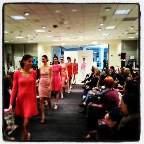 #NiemanMarcus #ProjectBeauty #models #catwalk #fashion #pink