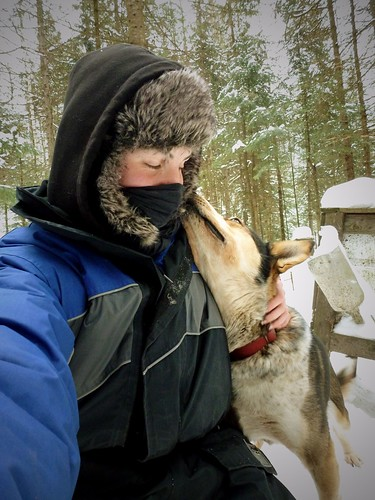 Picotine et moi, WWOOFING, St Guillaume Nord, Québec