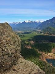 Rattlesnake Ledge (Stephanie Meshke) Tags: trees mountains forest washington northwest hike ridge ledge snoqualmie rattlesnakeledge iphone northbend rattlesnakeridge