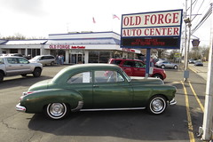 Old Forge Motors C&C (Speeder1) Tags: old forge motors car cars coffee february lansdale pennsylvania ford chevy dodge coupe corvette chevelle hot rod street machine mustang ss studebaker pinto nova ranchero supra fleetline model a lincoln continental t bucket challenger rt lamborghini truck mercury