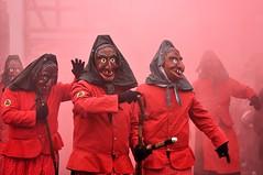 Carnaval (XoVooth) Tags: karneval demon démon sorcière witch alpirsbach allemagne déguisement red rouge cavalcade carnaval nikon d90