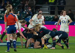 England v France #6 (Claire Stones) Tags: france redroses twickenham 6nations rugbyunion 2017 twickenhamstadium rugby englandvfrance england sixnations womensrugby
