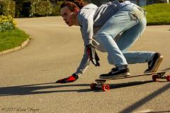Cornish carpark surfing (leonsayer) Tags: skateboarding skate longboarding sliding cornish cornwall carpark shredding downhill