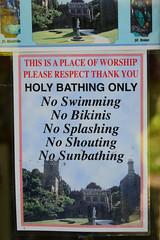 Photo of Holy bathing only - no bikinis!