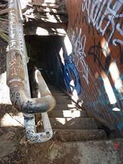 sgs10 (daily observer) Tags: philadelphia abandoned abandonedphiladelphia abandonesrailroadstation abandonedtrainstation urban urbandecay graffiti philadelphiagraffiti