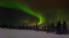 Magic Sky (Littlepois Photographie) Tags: nikon d4 littlepois nikon2470f28 lr4 colorefexpro dfine sky night finlande finland laponie auroresboréales
