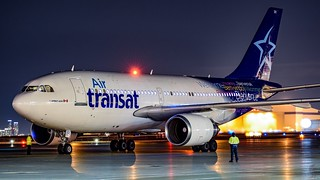 C-GFAT Air Transat Airbus A310-300 - cn 545